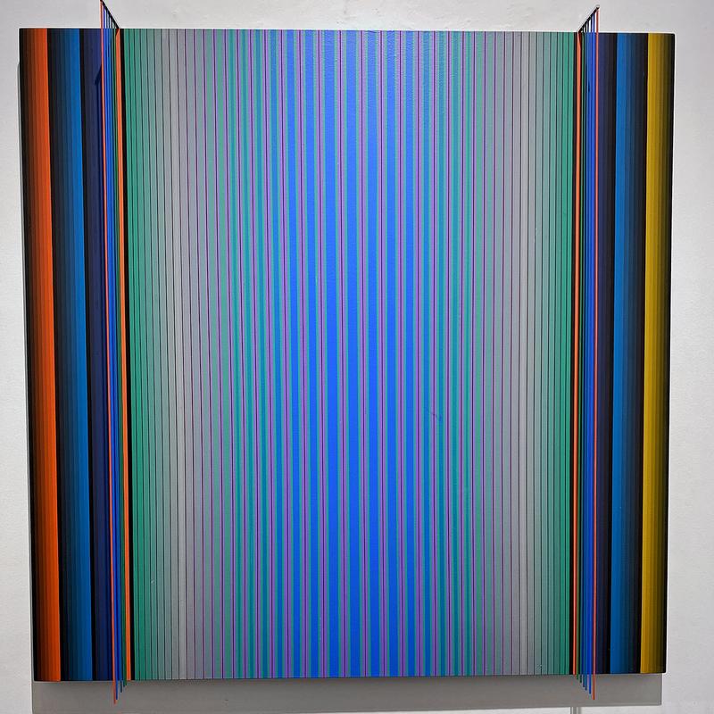Dario PEREZ FLORES - Painting - Prochromatique n°1118