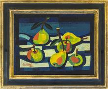Josef SCHARL - Painting - Äpfel und Birnen