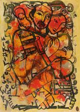 Mikhaïl TUROVSKY - Painting - Kabuki