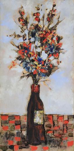 Hugues Claude PISSARRO - Gemälde - Bouquet