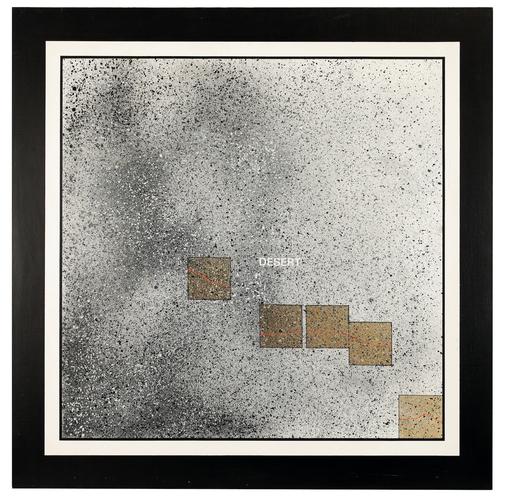 Antonio DIAS - Gemälde - Desert