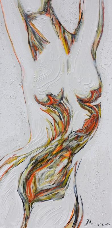 Ludmilla MOSHEK - Painting - L'élévation