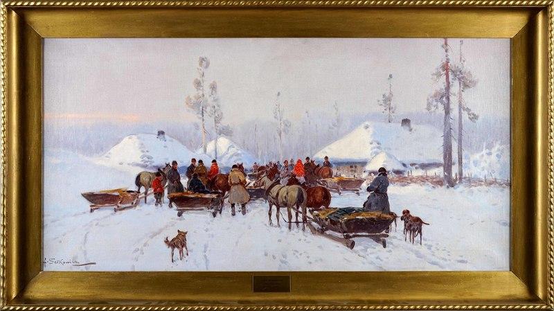 Adam SETKOWICZ - Gemälde - Genre Scene