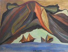 Ahmed LOUARDIRI - Drawing-Watercolor - Marine