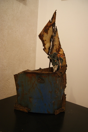 Jean Raymond MEUNIER - Escultura - titanic