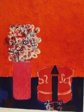 "安德烈·布拉吉利 - 版画 - ""Le Violon Rouge""1959."