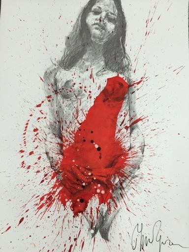 Philippe PASQUA - Gemälde - Nue