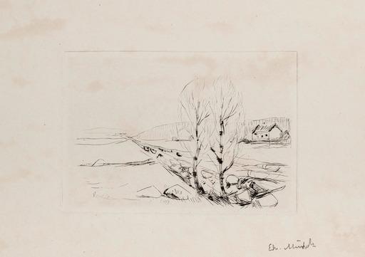 Edvard MUNCH - Print-Multiple - Norwegian Landscape
