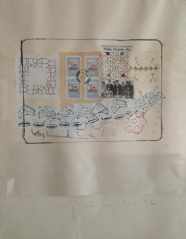 Alighiero BOETTI - Dibujo Acuarela - Kabul