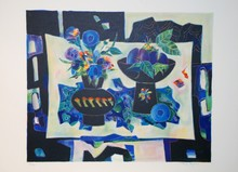 Tony AGOSTINI - Print-Multiple - Nature morte aux 2 vases