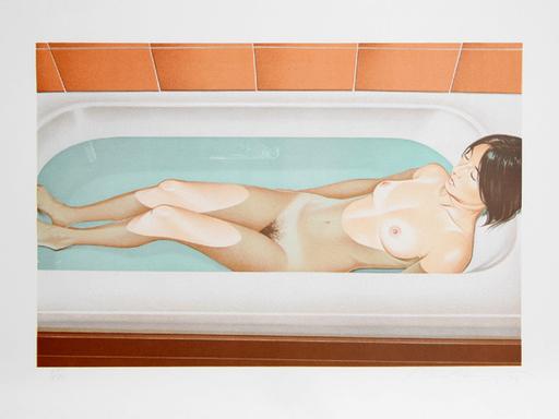 梅尔·拉莫斯 - 版画 - Bonnard's Bath