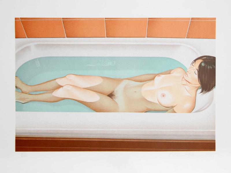 Mel RAMOS - Druckgrafik-Multiple - Bonnard's Bath