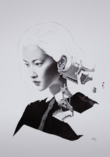 David BAYO - Dibujo Acuarela - 'Tōrō