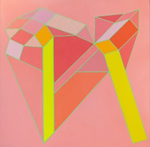 Achille PERILLI - Painting - Lento pede