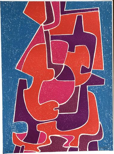 Pedro CORONEL - Druckgrafik-Multiple - Sol sobre una manta