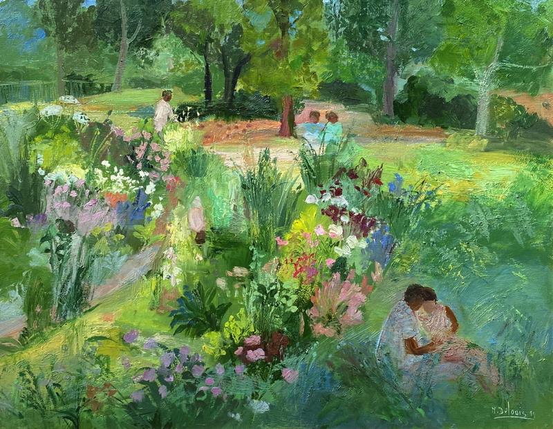 Nancy DELOUIS - 绘画 - Premier amour