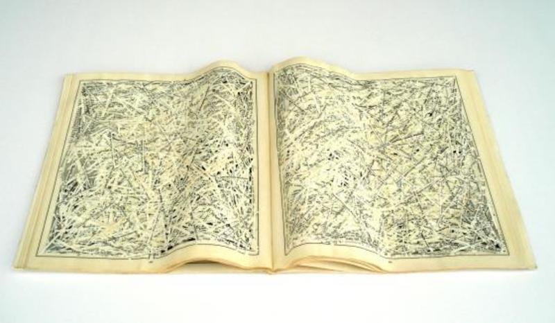 Franco SANNA - Escultura - Libro frammentato
