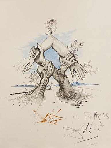 萨尔瓦多·达利 - 版画 - Five Continents