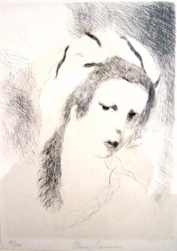 Marie LAURENCIN - Estampe-Multiple - Jeanne