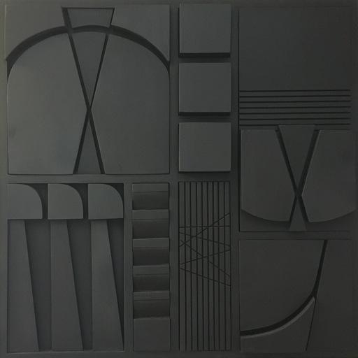 Jorge SALAS - Scultura Volume - Black Composition - Soto's Memory