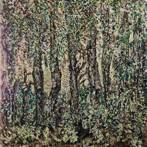 Marie BALDOVINI - Painting - Feuillage