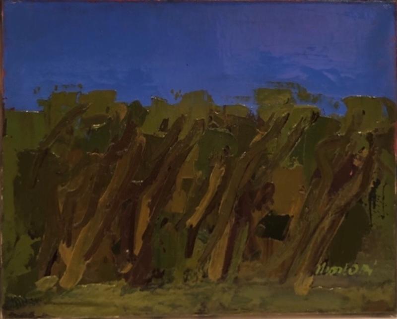 Ennio MORLOTTI - Gemälde - STUDIO DI BOSCO