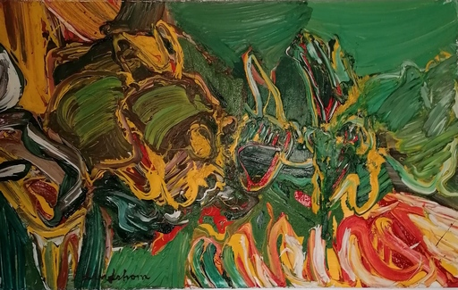 Bengt LINDSTRÖM - Painting - FETE ANIMALE