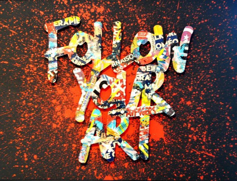 AÏROH - Pintura - FOLLOW YOUR ART