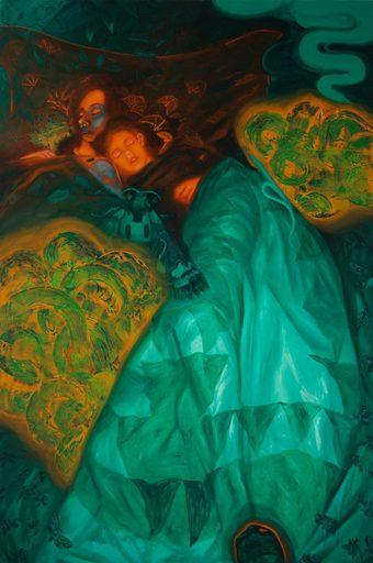 Adrian CAICEDO - Pittura - « The breath »