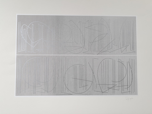 Jesús Rafael SOTO - Grabado - Untitled
