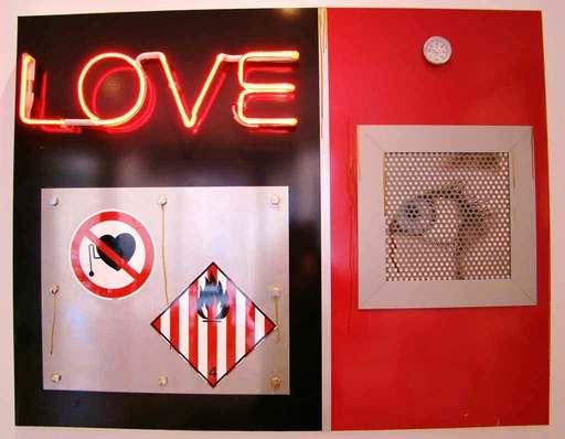 Peter KLASEN - Sculpture-Volume - LOVE