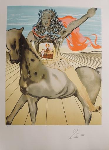 萨尔瓦多·达利 - 版画 - Chevalier Surréaliste