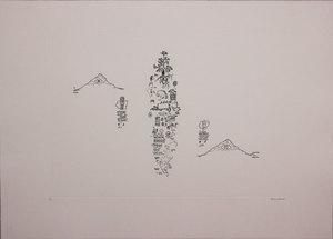 Gianfranco BARUCHELLO - Stampa-Multiplo - Untitled