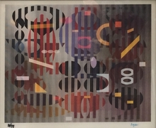 Yaacov AGAM (1928) - PS Out of Dark