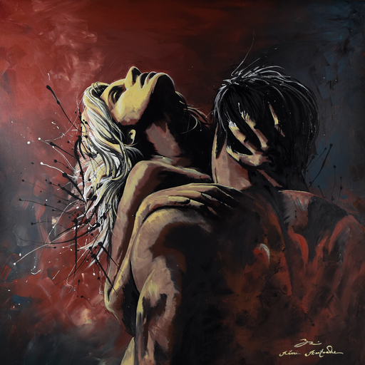 Rémi BERTOCHE - Pintura - Sexy love