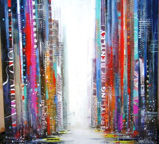 "Patrick CORNÉE - Pittura - ""NEW YORK"""