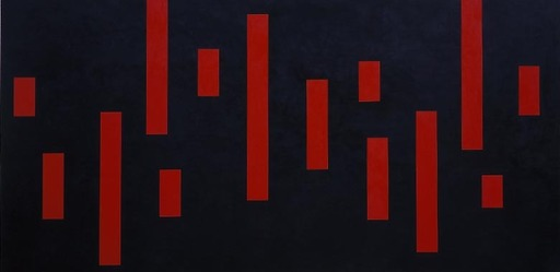 Shin SHIMIZU - Peinture - Sans Titre