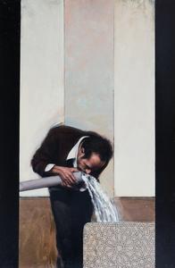 Stephen CONROY - Pintura - Figure (Study)