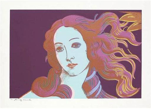 Andy WARHOL - Grabado - Sandro Botticelli, Birth of Venus (F&SII.319)