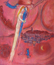 Marc CHAGALL - Estampe-Multiple - The Song of Songs