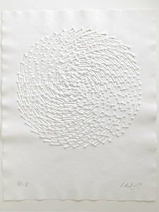 Günther UECKER - Print-Multiple - Bewegter Kreis