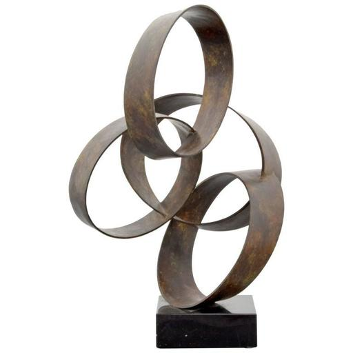 Larry MOHR - Scultura Volume - Large Larry Mohr Abstract Sculpture