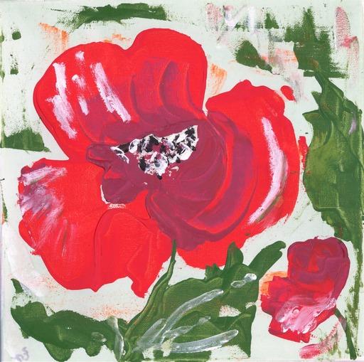 Lillie PIRVELLIE - Gemälde - Dance Poppy