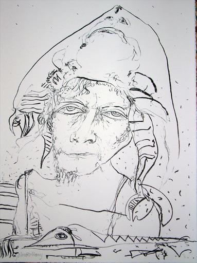 John BELLANY - Druckgrafik-Multiple - The Call of the Sea 12 - Man Ray
