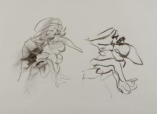 威廉•德•库宁 - 版画 - Two Figures