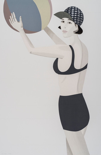 Alex KATZ - Print-Multiple - Chance 2 (Vivien)