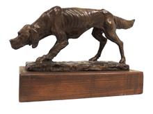 Antonio LIGABUE - Escultura - Cane setter