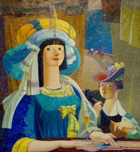 Nougzar KAKHIANI - Peinture