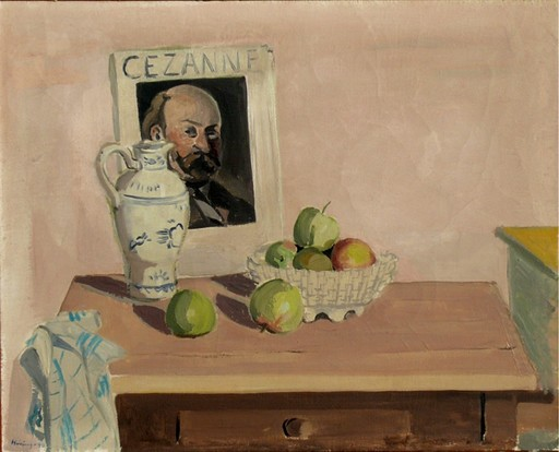 Harald HEIRING - Painting - Hommage a Cézanne