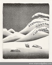 David HOCKNEY - Estampe-Multiple - Snow without colour